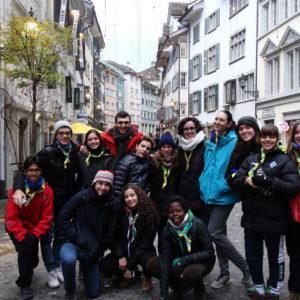 El Grup de Jovenívols de l'Esplai Sant Ignasi ens explica la seva experiència en un camp internacional a Suïssa